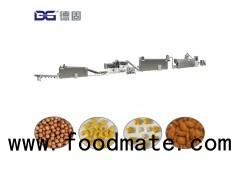 Crunchy Breakfast cereal fruit/froot loops/rings snack food processing line