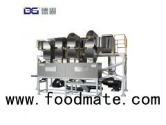 Hot air toaster/popper/puffing machine for popcorn, corn flakes, snack pellets
