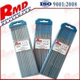 Ground Lanthanated Tungsten Electrodes WL10 Dia2.5, Dia3.0, Dia4.0 in Density 19.2