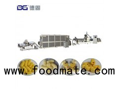 Corn puffed snack food/Extruded corn curl making machine/Processing line