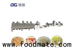 rice flakes/poha/rice crispies cereal snack food extrusion making machine produce process plant