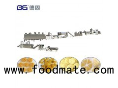 Double screw extruded fry 3d pellet snacks machines/papad food making extruder machine