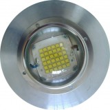 66MM LED WIDE BEAM GLASS LENS 120DEGREE