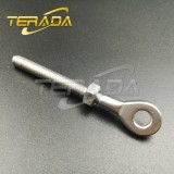 STAINLESS STEEL THREADED BALUSTRADE EYE LOCATION POINT