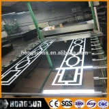 SGS Certificate Etching Stainless Steel 201 Sheet Wih Free Sample For Roofing Materials
