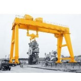 100T Construction Machine Double Girder Gantry Crane with Shield For Subway Underground