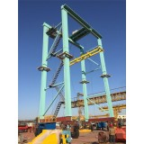 Container Rubber Gantry Crane used in Art Exhibition OF France