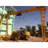 MH Electric Gantry Crane With Rail Track