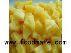 Pineapple core slices purple