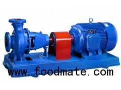 Horizontal centrifugal water pumps