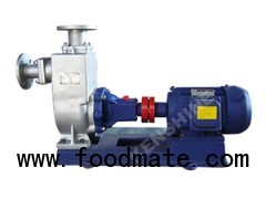 ZW Self priming sewage pump waste water pump