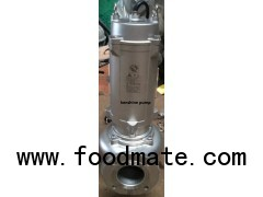 WQP Stainless steel submersible sewage pump