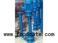 YW submersible sewage pump sludge pump