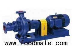 XWJ non-clog pulp pump drainage pump paper pulp pump/not clogging waste water drainage pump