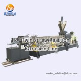 TPU Twin Screw Reaction Extrusion Line