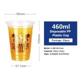 Disposable Transparent Plastic Cup