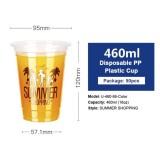 Disposable Transparent Plastic Cup