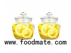 Set Of 3 Large Glass Storage Jar