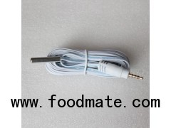 Flat Cable DS18B20 Sensor With Audio Jack