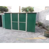 6x9 Ft Pent Metal Color Shed