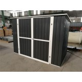 8x4 Ft Pent Metal Color Shed