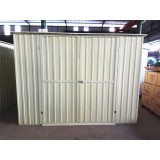8x6 Ft Pent Metal Color Shed