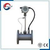 Gas vortex flow meter