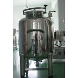 Stainless Steel Final Cream Products Sealed Storage Tank For Cosemtic