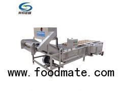 304 stainless steel vegetable and fruit cleaning machine