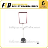 Supermarket POS A3 A4 Poster Frame With Extendable Frame Stand