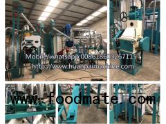 maize flour mill machine 10T grainder grinding price in Zambia