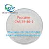 Factory Supply Procaine Hci CAS 51-05-8 CAS 59-46-1 Procaine Whatsapp+861862795160